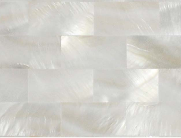 enlarged photo of the mother of pearl tile - st077