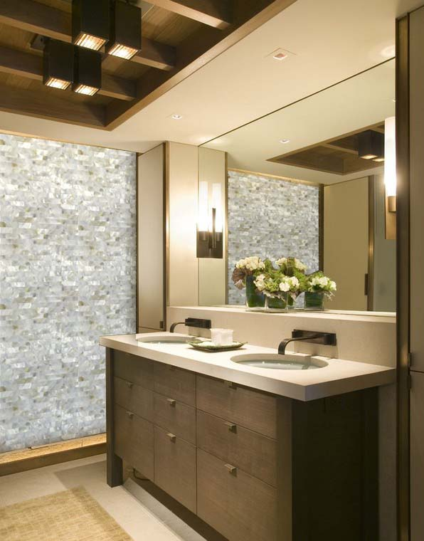 Mother Of Pearl Tile For Bathroom Wall Sticker
