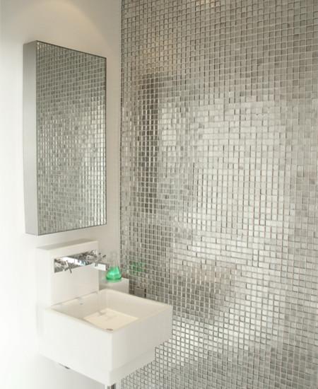 Metal Tile Backsplash Kitchen Gold Stainless Steel Tiles Square