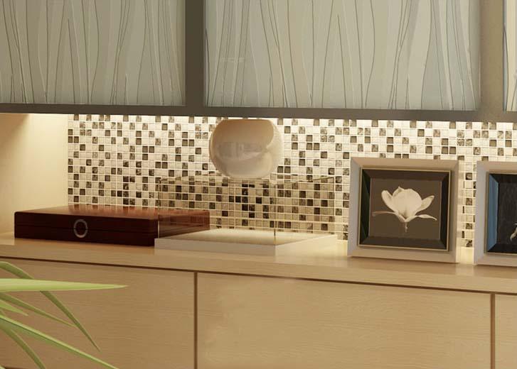 metal glass mosaic tile for kitchen backsplash wall tile - ks33