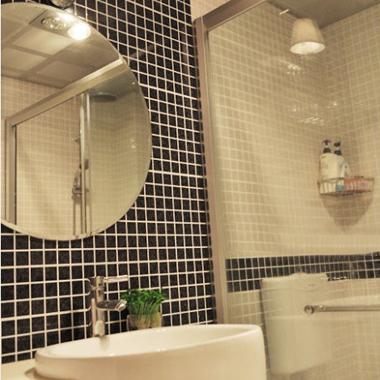porcelain mosaic tile bathroom mirror wall stickers