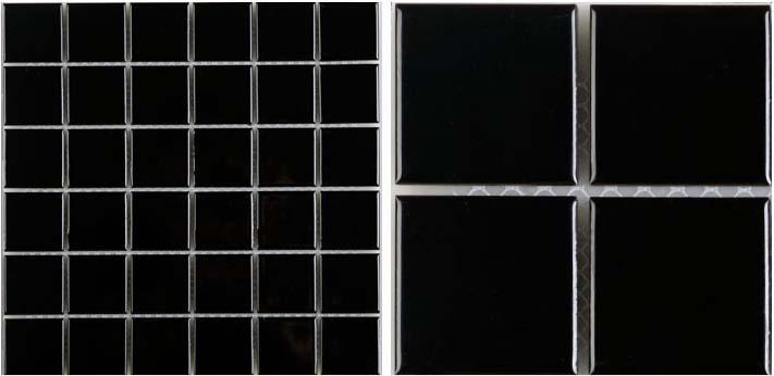 front side of glazed porcelain pool tile - hb-660