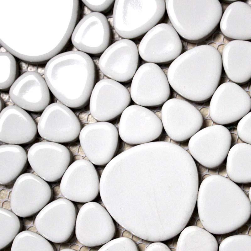 porcelain mosaic pebble bathroom wall stickers - aty1103