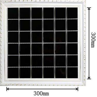 dimensions of glazed porcelain mosaic tile - hb-660
