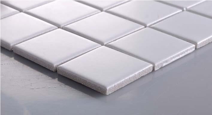 glazed porcelain mosaic floor tile details - hb-656