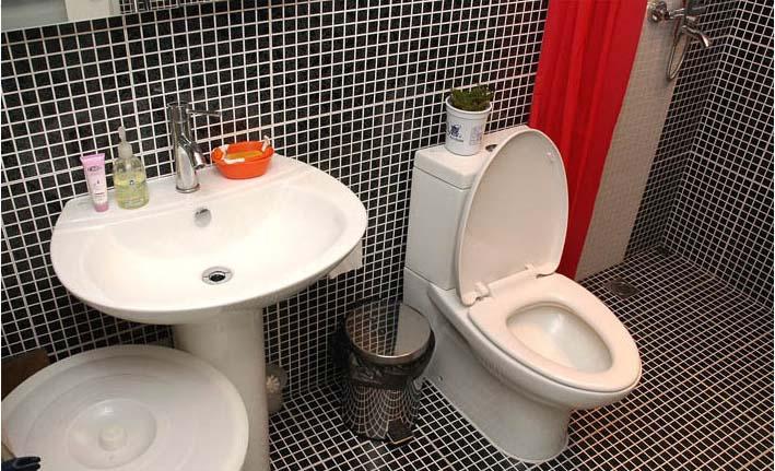 porcelain mosaic bathroom wall and floor tile - hb-009
