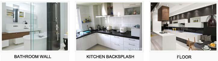 porcelain tile for kitchen bathroom - hb-656