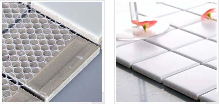 mesh mounted, smooth glaze - hb-656