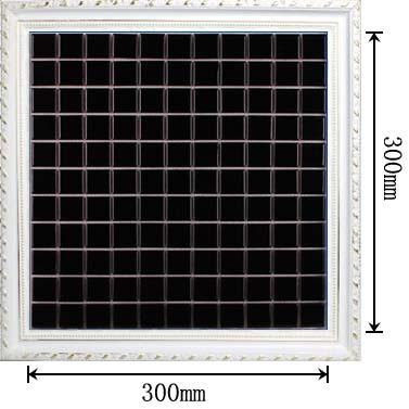 dimensions of glazed porcelain mosaic tile - hb-009