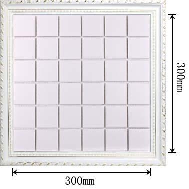 dimensions of glazed porcelain mosaic tile - hb-656