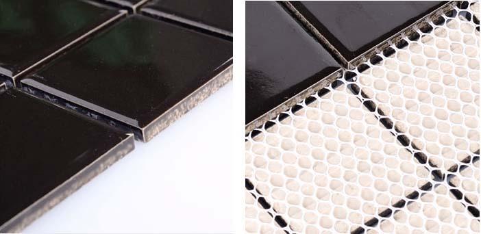back of the porcelain mosaic tile - hb-660