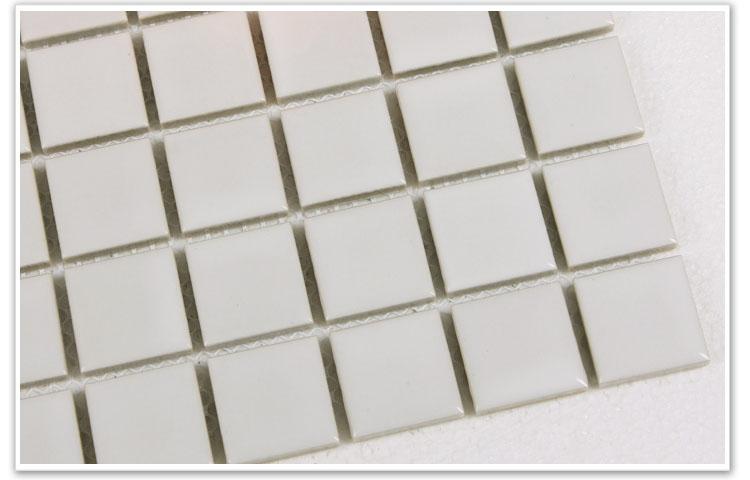 white porcelain mosaic tile - hb-002