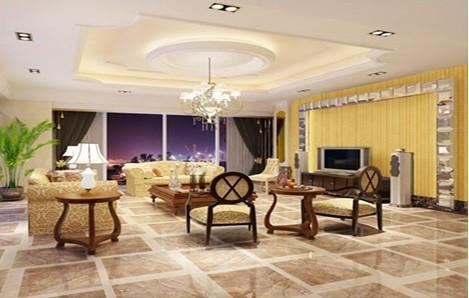 plated gold porcelain mosaic living-room wall backsplash tile - yf-mca34