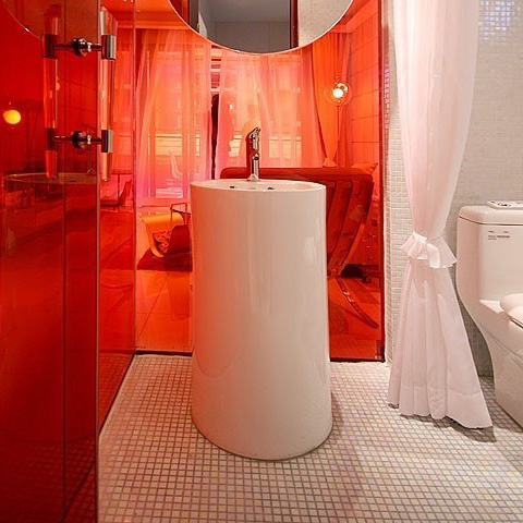 white porcelain mosaic bathroom wall and floor tile - hb-002