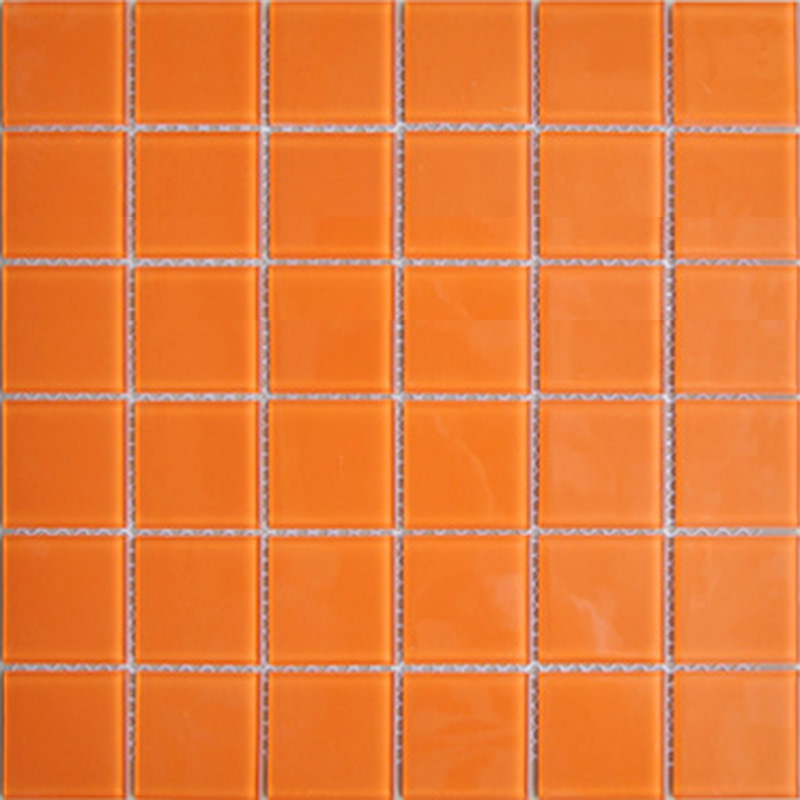 Mosaic Floor Orange Orange Penny Tile Orange Wall Penny Tile Rond