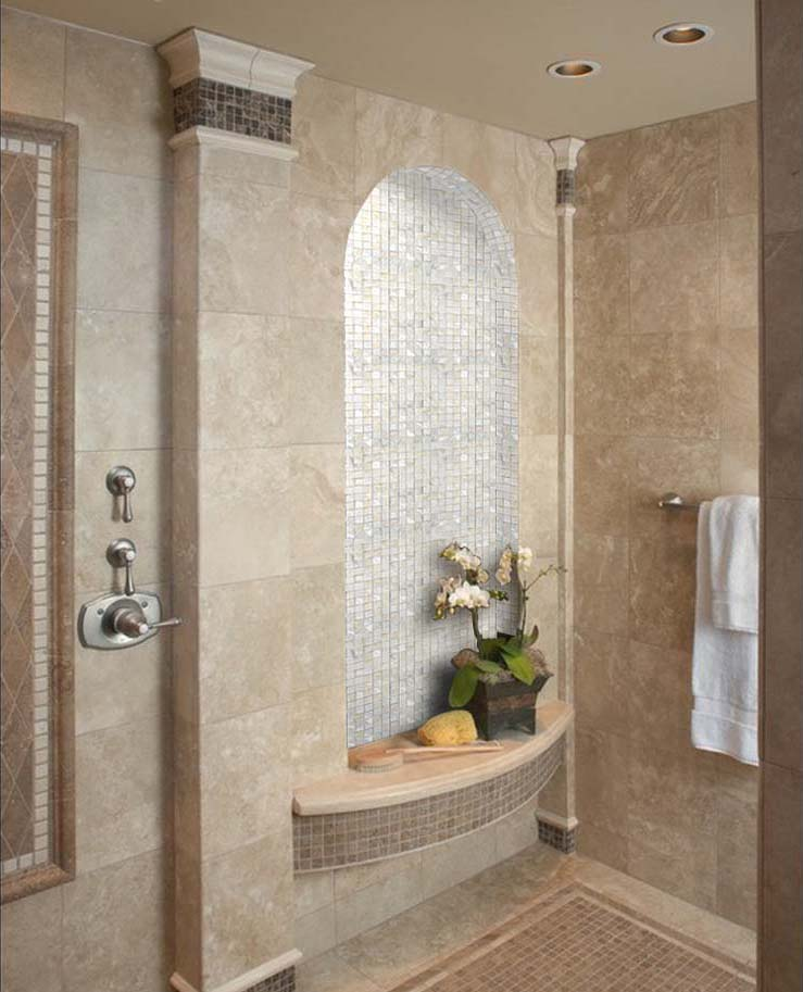 Preferred Mother of Pearl Shell Mosaic Tile Shower Bath Mirror Wall Backsplash | LV72