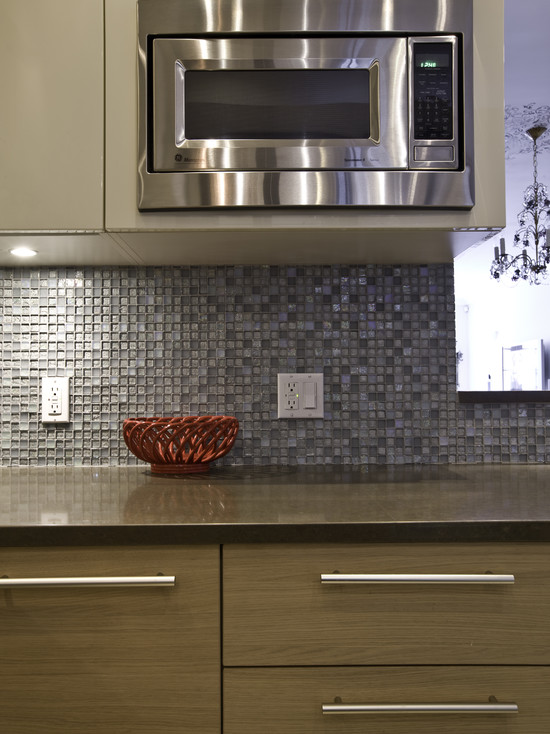 shell mosaic tile backsplash kitchen ideas - ranbei20