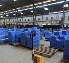 world-class manufacturing facility - well organized production floor