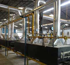 world-class manufacturing facility - equipment with the most advanced technology