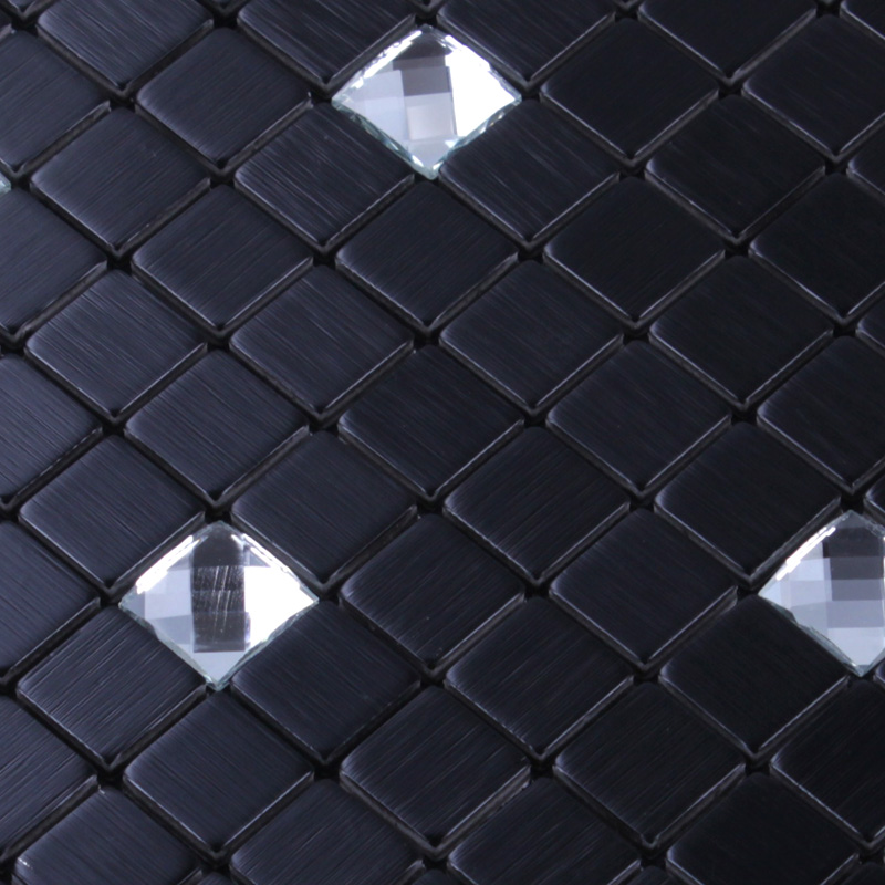 black 304 stainless steel metal glass sheet