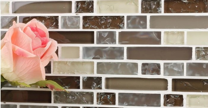 crystal backsplash wall tiles