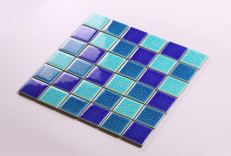 Mosaic Tile As Interior Elements : Square Mosaic Tile Designs