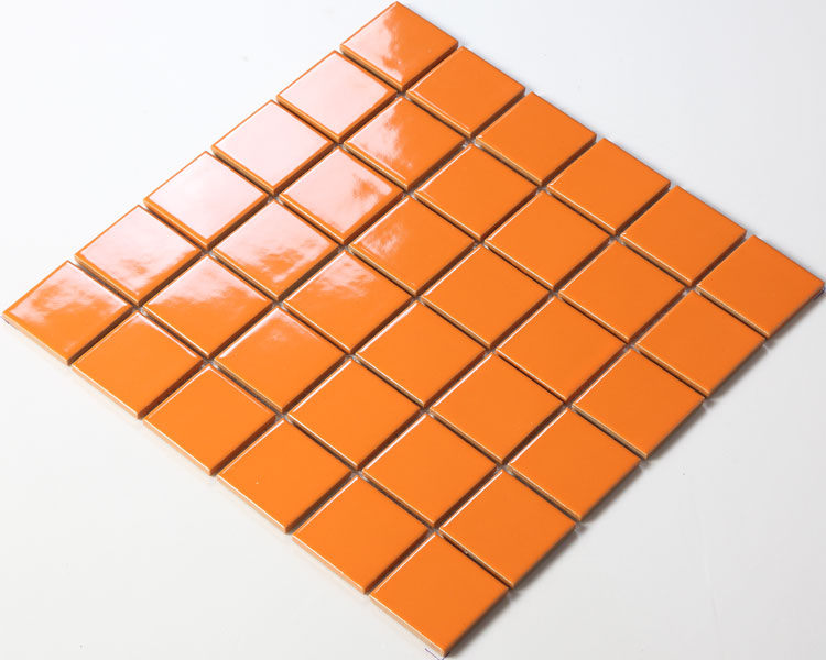 porcelain mosaic tile kitchen backsplash