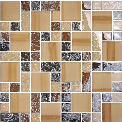+Crystal Glass Tile Glass Mosaic for Counter top $15 //ft