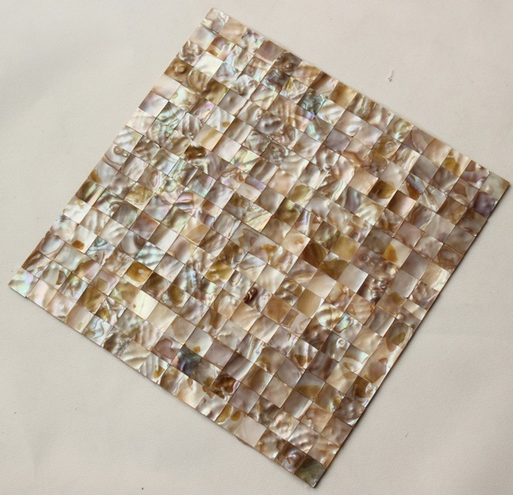 shell mosaic tile size 300x300mm