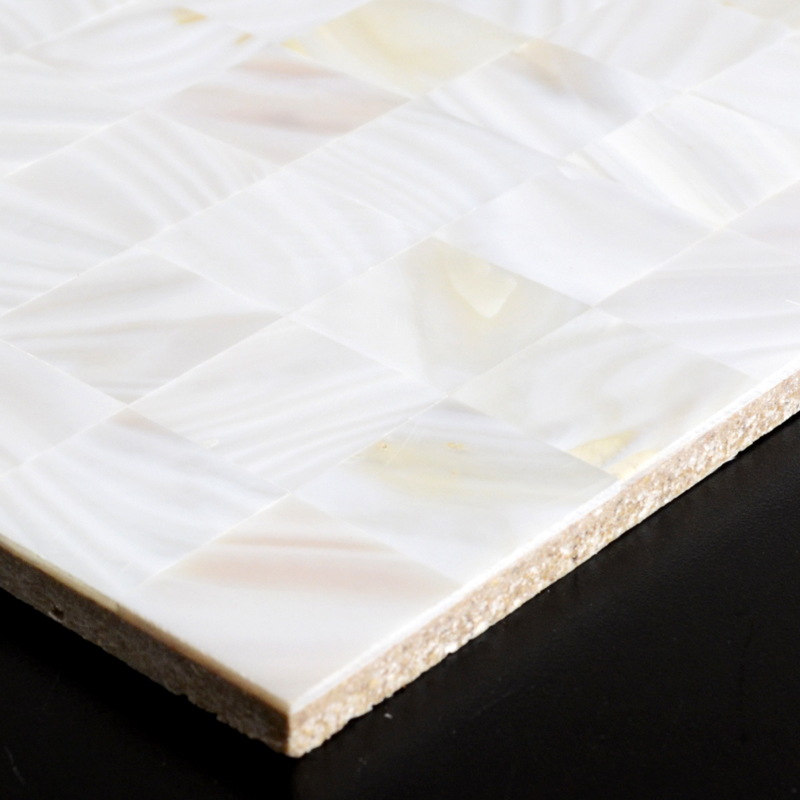mother of pearl tile bathroom wall decorative