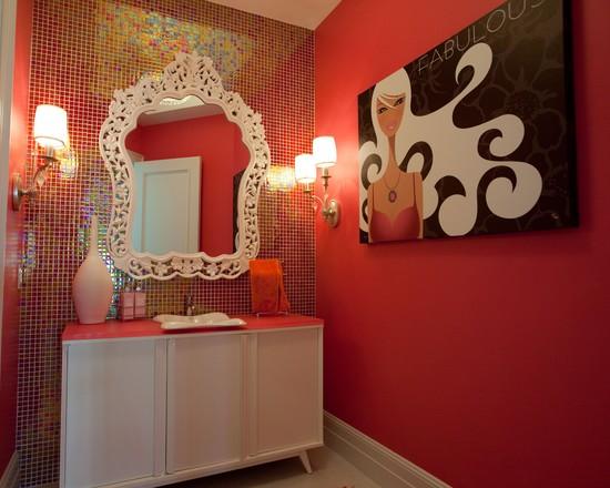 glass mosaic tile crystal backsplash washroom wall tiles
