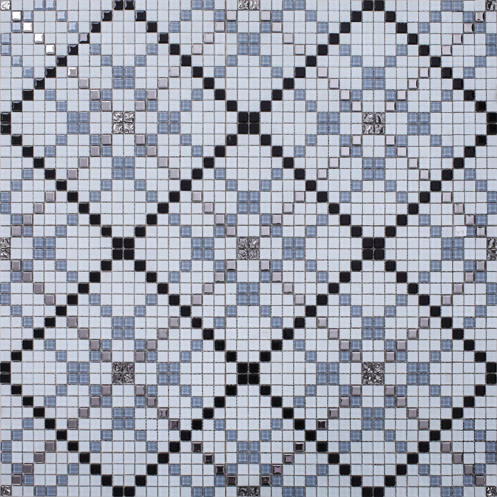 front of crystal glass tile glazed vitreous mosaic wall tiles